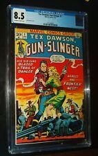 TEX DAWSON, GUN-SLINGER #1 1973 Marvel Comics CGC 8.5 VF+