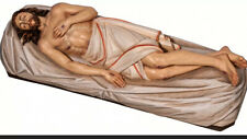 STATUA GESÙ MORTO - DEAD JESUS - Holy Sepulcher Wooden Statue