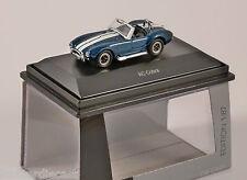 Schuco AC COBRA in Blue with White Stripes 1/87 scale model