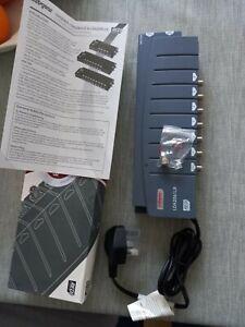Labgear LDA2061LR 6 Way Distribution Amplifier - 4G Filtered Amp For...