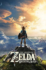 The Legend Of Zelda: Breath Von The Wild Sonnenuntergang Maxi Poster PP34131