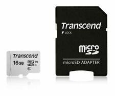 Transcend 16GB MicroSDHC Class 10 Memory w/ Adapter for Gopro Hero 2 , Hero 3