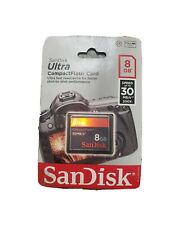 SanDisk Ultra CompactFlash 8 GB Memory Card 30MB/s (SDCFH-008G-AW11A