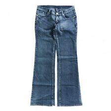 Damen-Bootcut-Jeans aus Denim mit niedriger Hosengröße W29 (en)