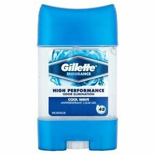 6 X Gillette Endurance Cool Wave Clear GEL Deodorant 70ml