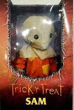 "Mezco Toyz TRICK R TREAT SAM MEGA SCALE 15"" Doll Halloween Horror 'r Pumpkin"