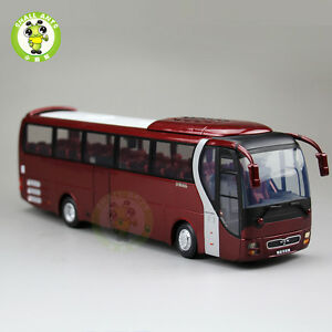 New 1/42 MAN Lion's Star Diecast Bus Coach Models Toys YuTong Bus ZK6120R41