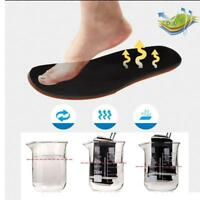 Breathable Shock Absorption Insoles Elastic Memory Cotton Sport Insole Pads W