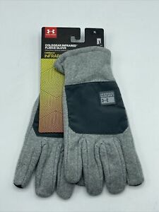 Under Armour XL ColdGear Infrared Fleece Thermo-conductive Gloves Extra Large