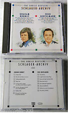 DEUTSCHES SCHLAGER-ARCHIV B Graham Bonney / Bertelmann.1989 SonoCord Club CD TOP