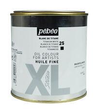 Pebeo Studio XL Oil Colour Paint LARGE 650ml Tin - Titanium White