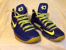Nike KD V Big Kids 555641-404 Hyper Blue Volt Durant Basketball Shoes Size 6.5