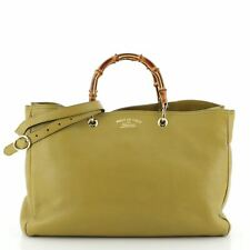 Gucci Bamboo Shopper Tote Leather Large