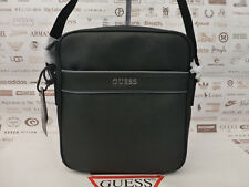 GUESS Black Crossbody Bag 6228 UPTOWN Shoulder Bags Medium Slim Side Case BNWT