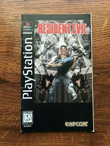 Resident Evil Long Box Longbox Sony Playstation PS1 Manual Only