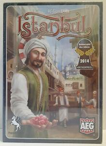 Istanbul Board Game by Rudiger Dorn AEG Pegasus 2014 - New and Sealed!