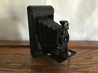 Vintage Hawkeye Model C Camera Folding Cartridge Made in USA Untested Free Ship