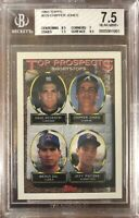 1993 Topps #529 Chipper Jones Rookie BGS 7.5 Near Mint+ Condition Braves HOF RC