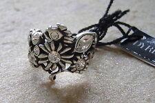 Dyrberg núcleo de ensueño anillo flor s/Crystal