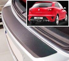 Seat Ibiza Mk5 3/5 PUERTAS - estilo Carbono Parachoques trasero PROTECTOR