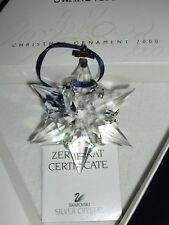SWAROVSKIJahresausgabe Stern Annual Edition 2000 Christmas Xmas Ornament OVP