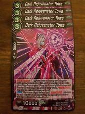4x Dark Rejuvenator Towa - Dragon Ball Super Card Game