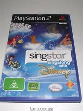 Singstar Singalong with Disney PS2 PAL *No Manual*