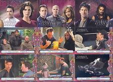 STARGATE ATLANTIS SEASON 3 & 4 2008 RITTENHOUSE COMPLETE BASE CARD SET OF 81 TV