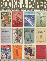 Boy Scout Prices Realized Guide Books & Paper w/ Baden Powell + Bonus Videos
