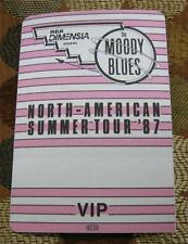 Vintage OTTO Moody Blues North American Summer Tour 87 VIP Backstage Pass - PINK