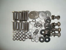 LANDROVER DEFENDER SERIES 3 - SEAT BOX BOLTS, SCREWS IN STAINLESS STEEL