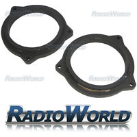 """BMW X5 X6 5 Series F10 MDF Speaker Front 4"""" Speaker Adaptors / Rings Spacers"""
