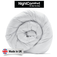 Microfibre 15 Tog Duvet Soft & Warm Single, Double, King, Super King Duvet