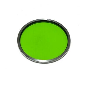 :Canon Genuine 48mm G1 Green Contrast Chrome Ring Filter B&W