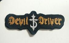 DEVIL DRIVER Patch Devildriver Patch Embroidered Iron/Sew-on Fast Delivery