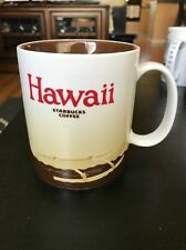 Starbucks Hawaii Coffee Mug 2011 Canoe Global Icon City Collectors Series