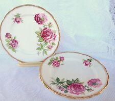 "7 Royal Standard 'ORLEANS ROSE' 6 3/4"" Plate - Pink Roses,Gold Trim (313)"
