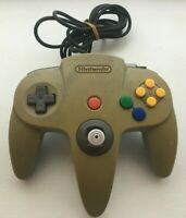 Nintendo 64 N64 Controller - Gray - AUTHENTIC | TESTED! shows yellowing/age