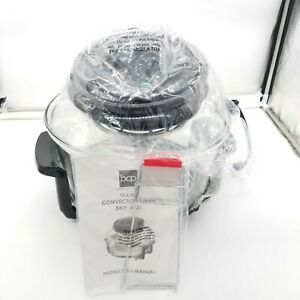Electric Convection Oven Roaster Turbo Cooker Temp Best Choice Products 12 Liter