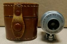 T.O.C TOC Universal Finder Viewfinder - Pat No. 208268 - With Leather Case