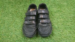 Boys Clarks Black Leather School Shoes Size UK 3H Wide Fit