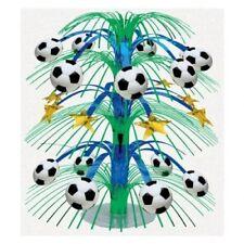 Articoli nero Amscan per feste e party, tema calcio