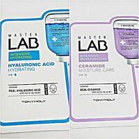 [Tonymoly] Master Lab mask pack sheet(Hyaluronic Acid 3pcs & Ceramide 3pcs)