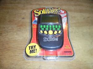 Brand New Westminster Solitaire Handheld Travel Electronic Pocket Arcade Game