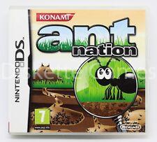 ANT NATION - NINTENDO DS - PAL ESPAÑA - ANTNATION