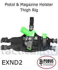 Fobus EXND2 New Design Thigh Rig for Fobus Paddle Holsters & Single Mag Pouches