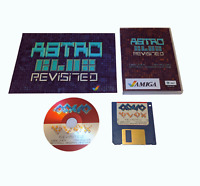 Neu Astro Blox Revisted Amiga Spiel Sammler Packung CD + Floppy DVD + Plakat