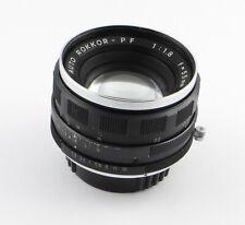 Lens Minolta Auto Rokkor-Pf 1:1.8 f = 55mm - MD-Mount 55m f/1.8