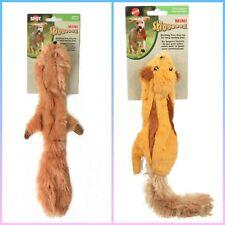 Plush Stuffing Free Dog Toy Mini Skinneeez Squirrel & Flying Squirrel -Set of 2