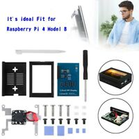 Étui en alliage d'aluminium 3.5 inch Display + LCD Screen pour Raspberry Pi 4B